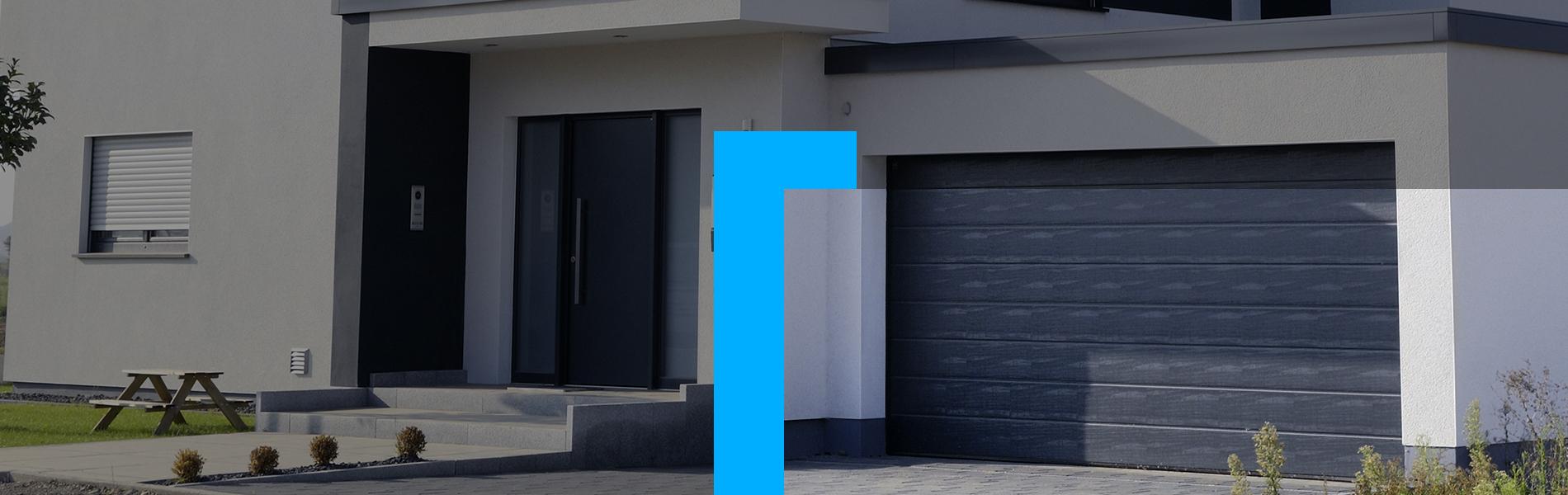 Azurenov - Produits - Porte garage - HEADER