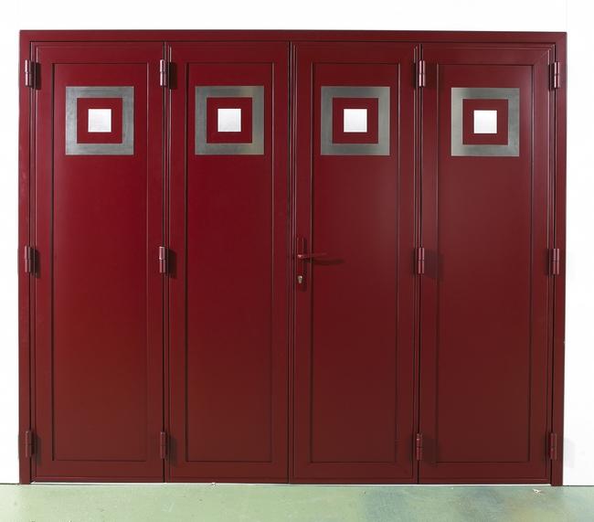 Azurenov - Produits - Porte de garage - A vantaux 1