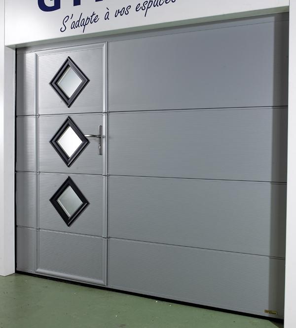 Azurenov - Produits - Porte de garage - Sectionnelle 1