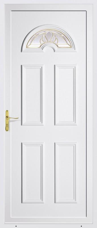 Azurenov - Produits - Porte d'entrée - PVC 2