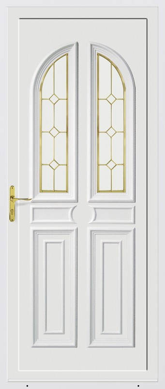 Azurenov - Produits - Porte d'entrée - PVC 5