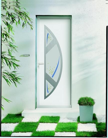 Azurenov - Produits - Porte d'entrée - Aluminium 2