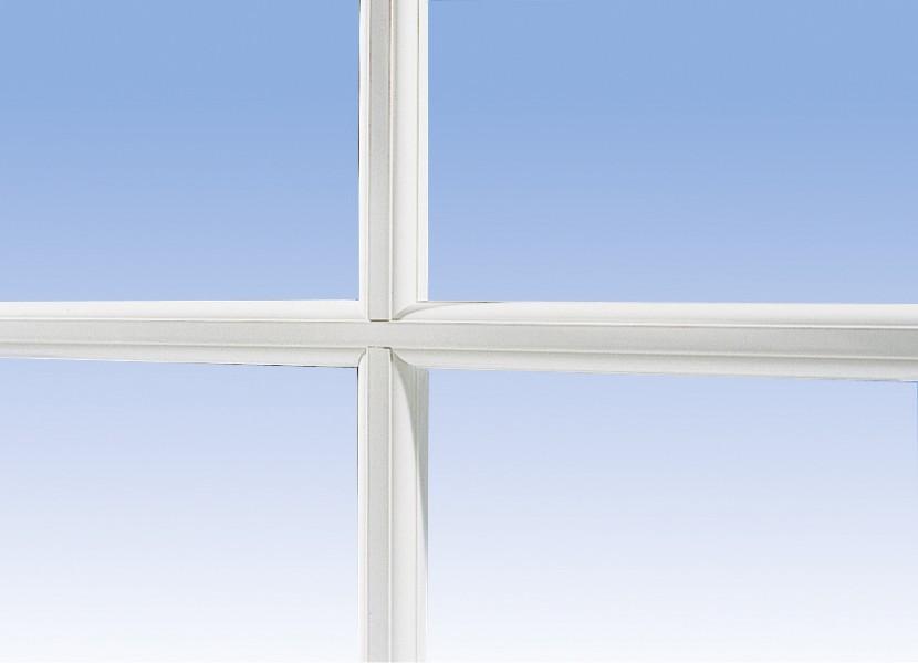 Azurenov - Produits - Fenêtres - PVC - Accessoires - Petits bois rapportés moulurés blancs