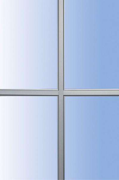 Azurenov - Produits - Fenêtres - PVC - Accessoires - Petits bois incorporés coloris canon de fusil 10 mm