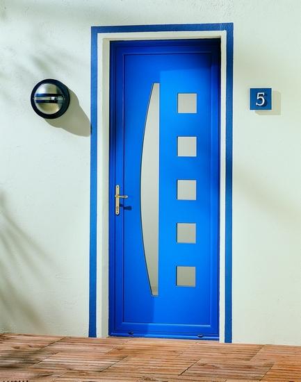 Azurenov - Produits - Porte d'entrée - Aluminium 8