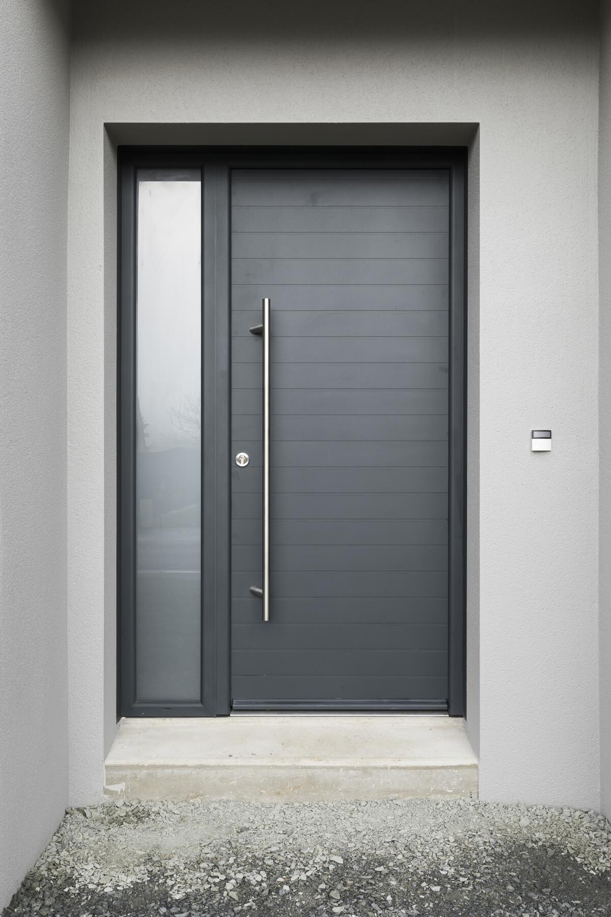 Azurenov - Produits - Porte d'entrée - Aluminium